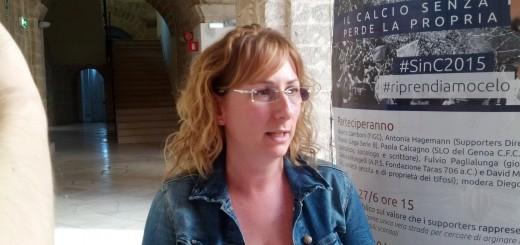 Paola Calcagno, SLO del Genoa risponde alle domande del suo ruolo nei confronti dei tifosi